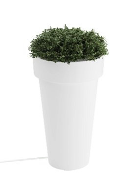 Tera Large Lighted Planter