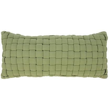 Light Green Soft Weave Hammock Pillow