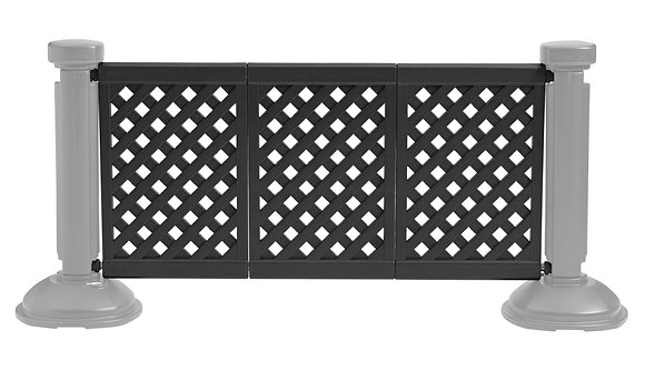 Crowd Control 3/Panel Section Black