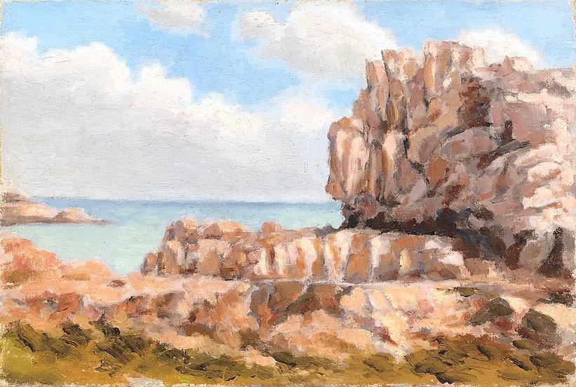 """""""Seaside"""" - Painting"""