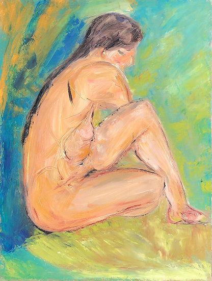 "Marie-Louise Garnavault (1911-2012) - ""Female nude"" #3"
