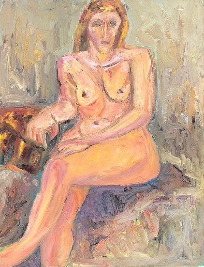 "Marie-Louise Garnavault (1911-2012) - ""Nu féminin"" #6"