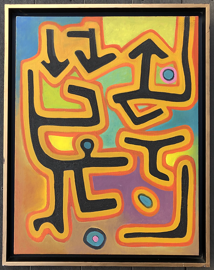 """""""Abstraction"""" - Oil painting on canvas"""