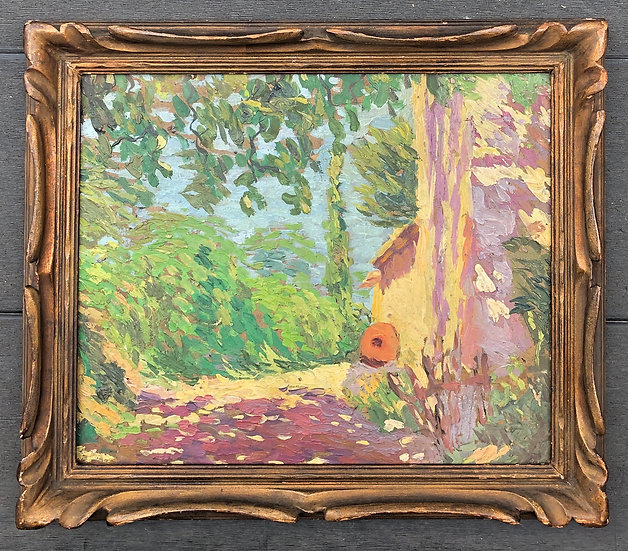 """Impressionist landscape"" - Original painting"