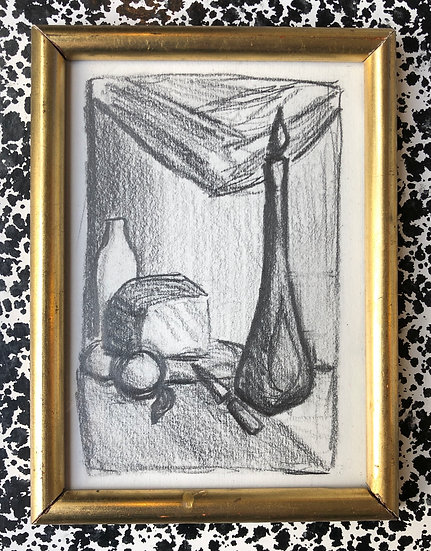 """Nature Morte"" - Dessin Original"