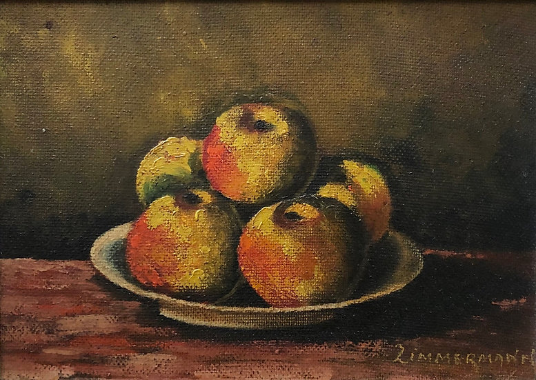 """Still Life with Apples"" - 1950s"