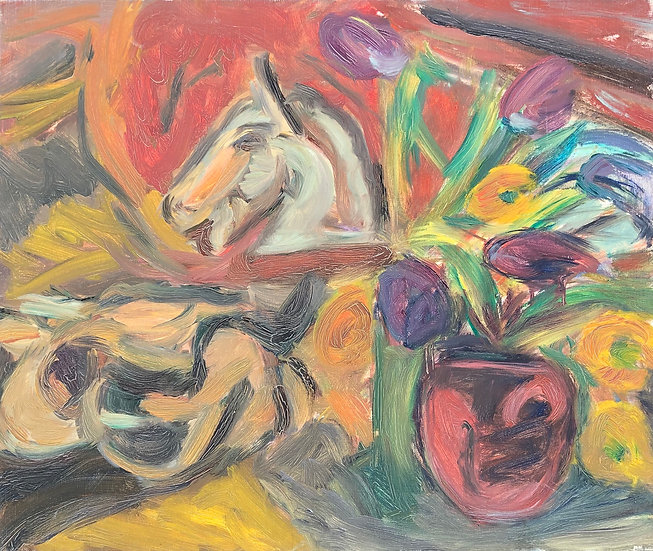 "Marie-Louise Garnavault (1911-2012) - ""Nature morte"" #10"