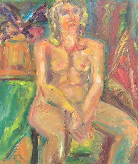 "Marie-Louise Garnavault (1911-2012) - ""Female nude"" #7"
