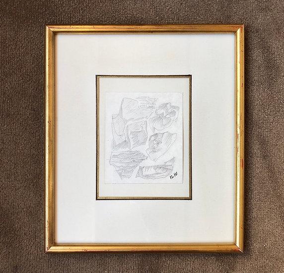 Joseph Iliu (1914-1999) - Original drawing