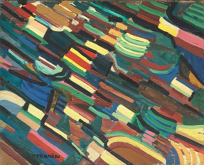 Raymond Trameau (1897-1985) - Original painting