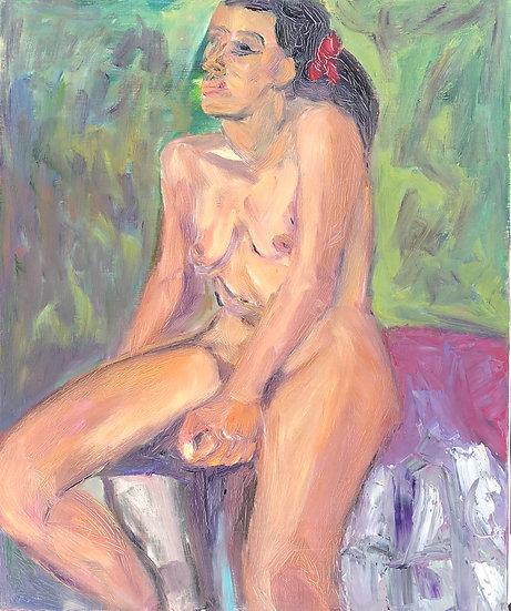 "Marie-Louise Garnavault (1911-2012) - ""Nu féminin"" #4"
