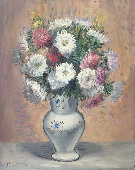 "Henri Olive-Tamari (1898-1980) ""Bouquet of Flowers"" - Painting"