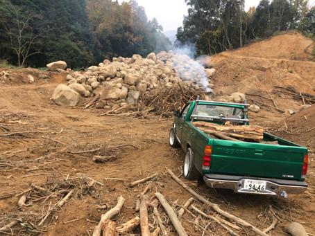 山へ薪とり