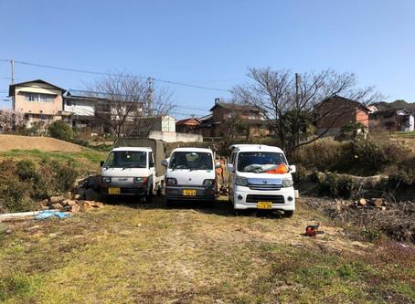 2月24日 柴刈り(薪)