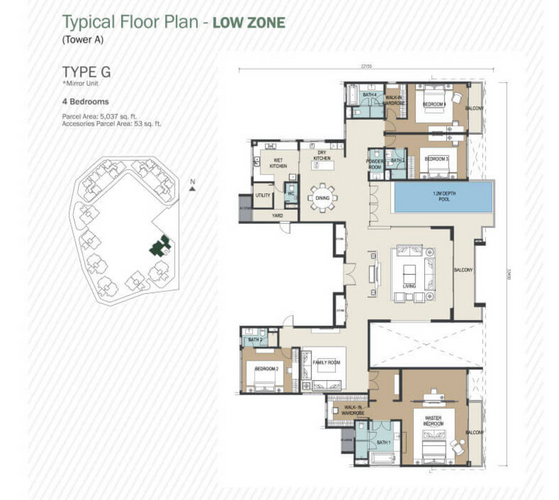 5090sf layout