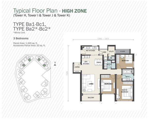 1377sf layout