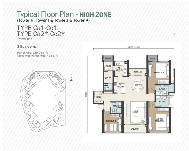 1603sf layout