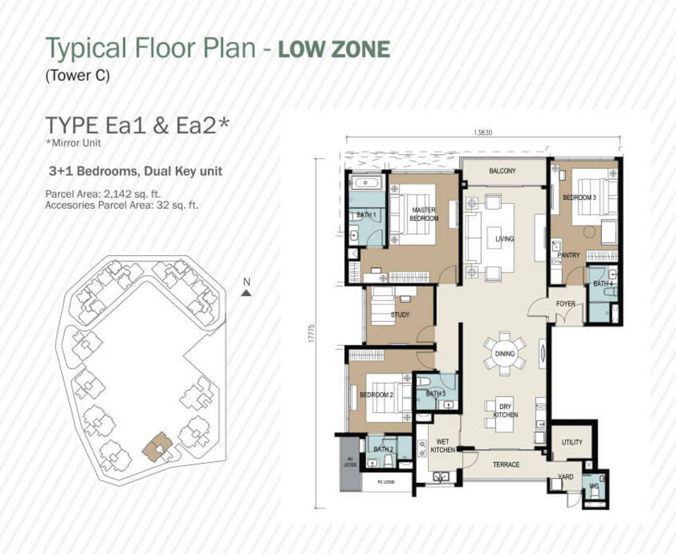 2174sf layout