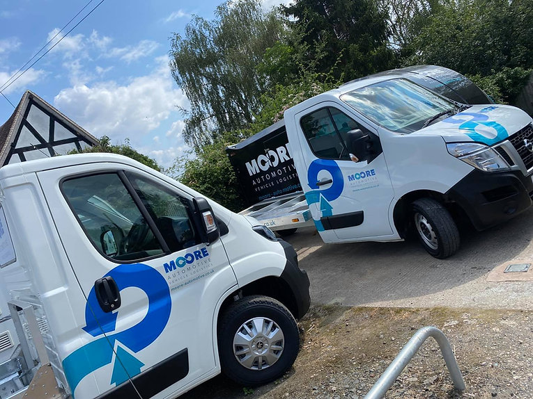 Moore Automotive offer a vehicle transport service to the UK