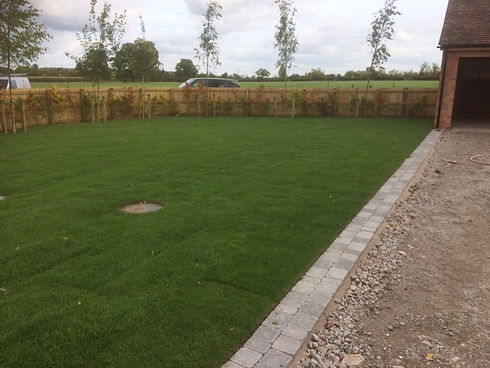 The team at DHC Services Ltd include landscaping contractors based in the Midlands