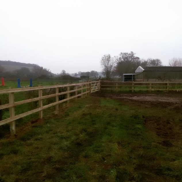 New Fencing Contract