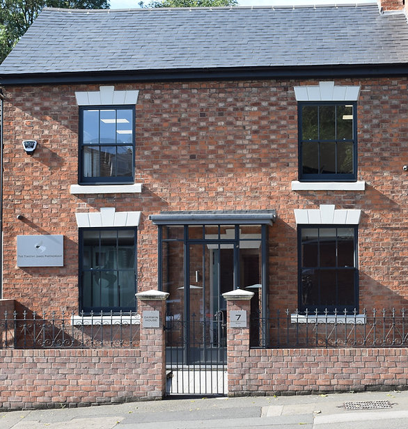 The Timothy James Partnership office in Bromsgrove, Worcestershire