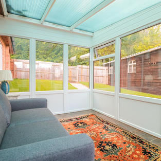 Holiday let conservatory
