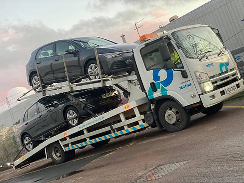 Moore Automotive offer a car transport service to customers in the UK