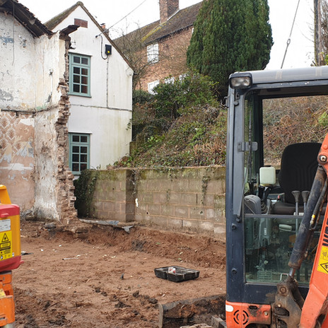 Before we started our project on the 18th Century Cottages