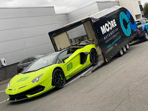 Moore Automotive provide a vehicle transport service to customers across Lancashire