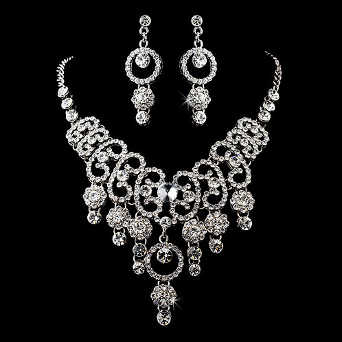 Swarovski Crystal Necklace Set