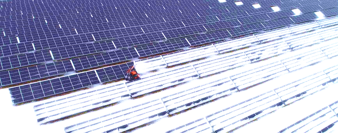 Snolar Technologies, snow, removal, cleaning, solar, panel, PV