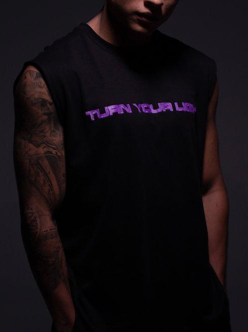 Camiseta (sin mangas) Turn Your Light