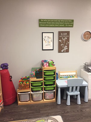Play therapy room 3