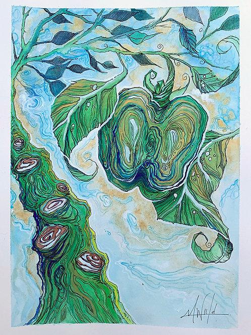 The Rainforest | Original Drawing