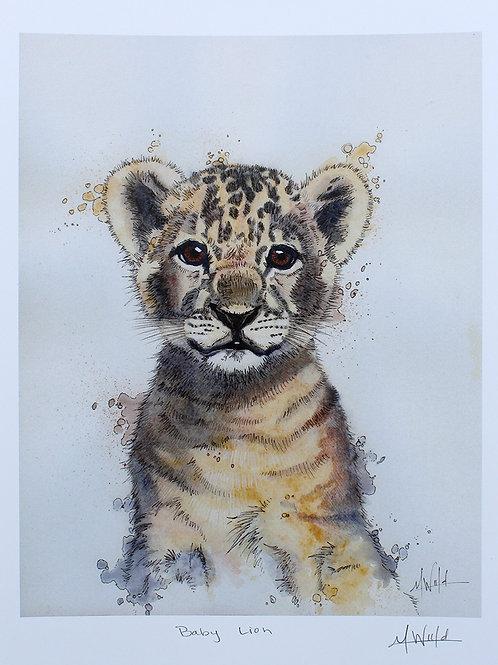Baby Lion | Fine Art Print