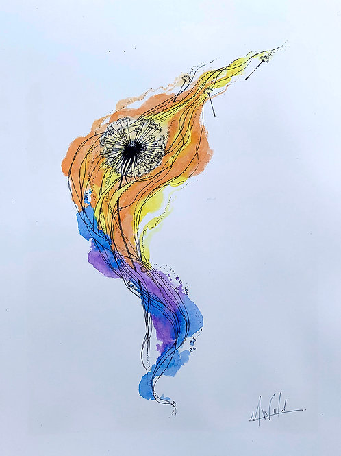 Healing Process | Original Drawing