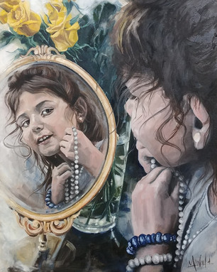 Mikayla in Mirror