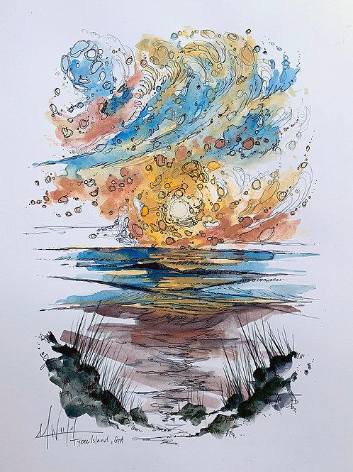 Tybee Island Study I | Original Drawing