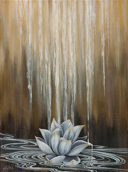 Golden Lotus | Fine Art Print