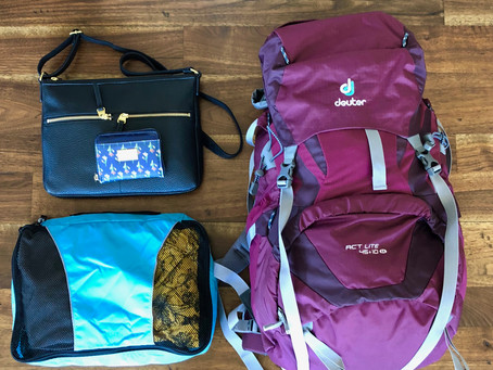 it's backpacking, not suitcasing