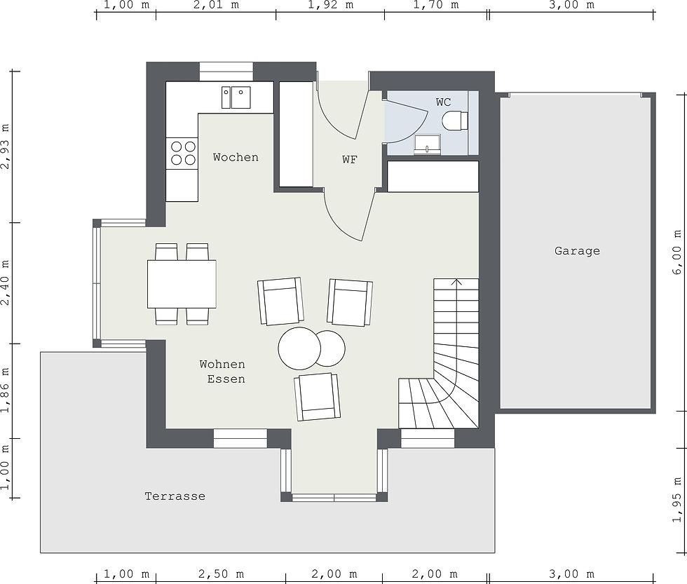 SeebStadthaus - StadthausEG - 2D Floor P