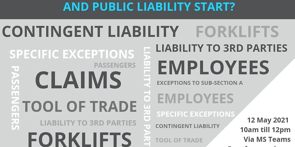 Edu-Webinar: Where does Motor 3rd Party Liability end and Public Liability start?