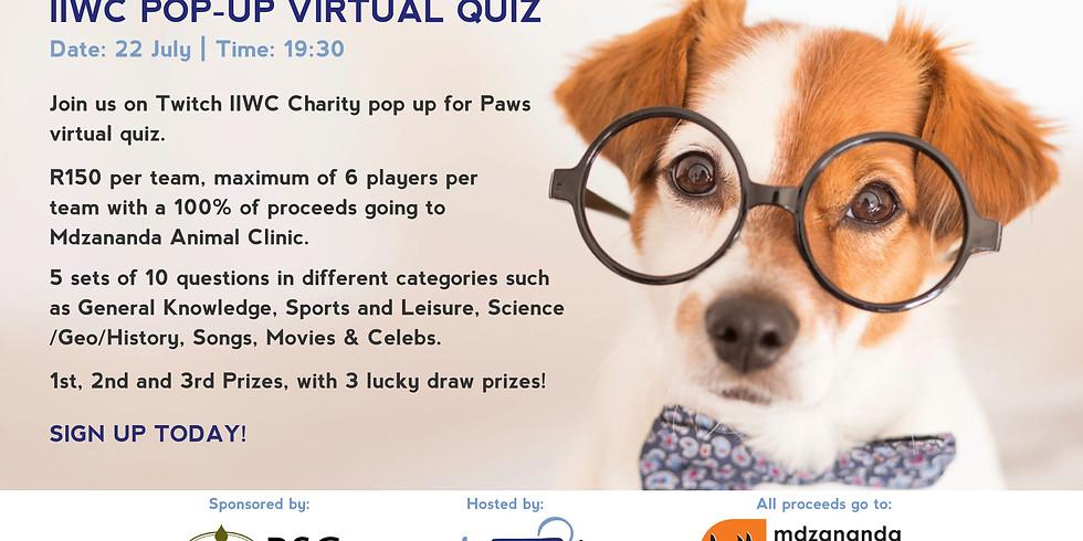 Pop-Up Virtual Quiz