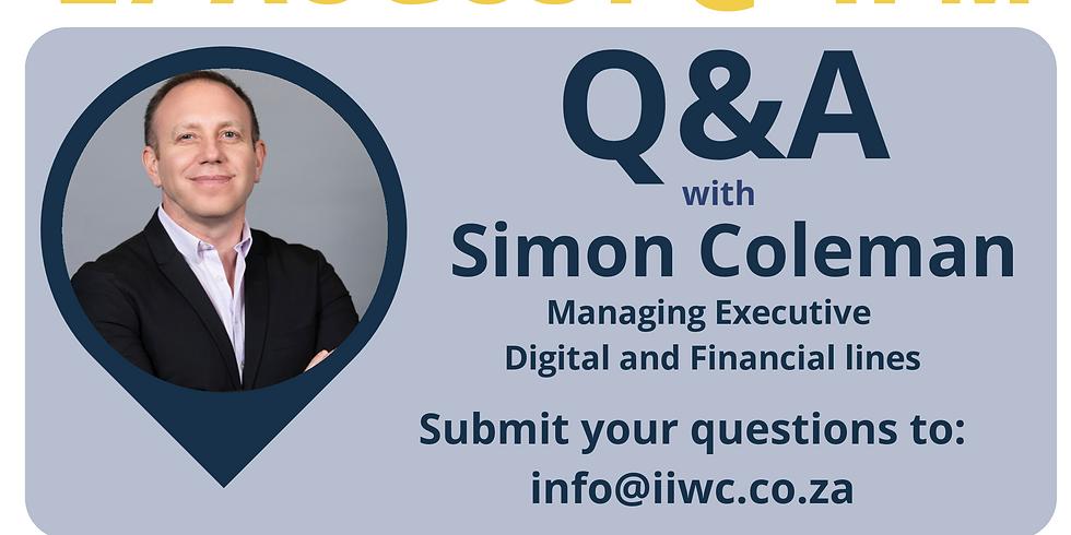 U35's Social Pop up: Q&A with Simon Coleman