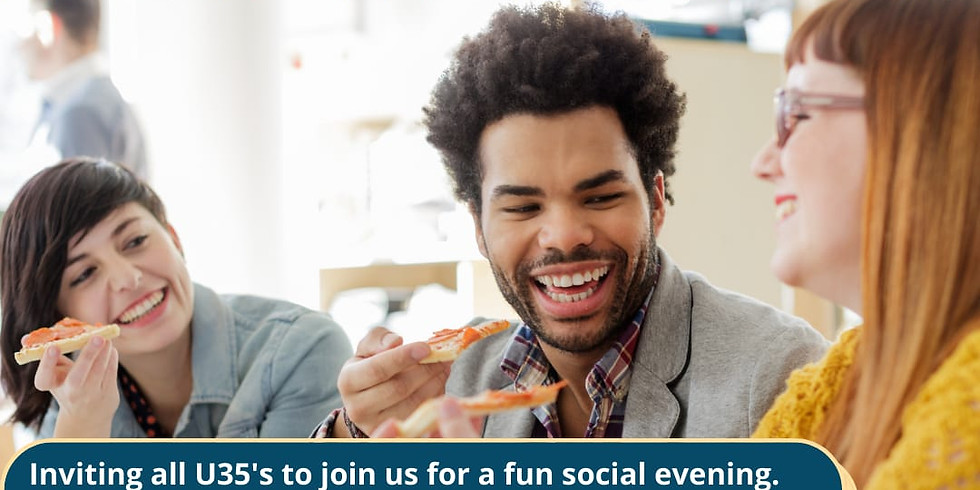 Under 35's POP UP Social Event