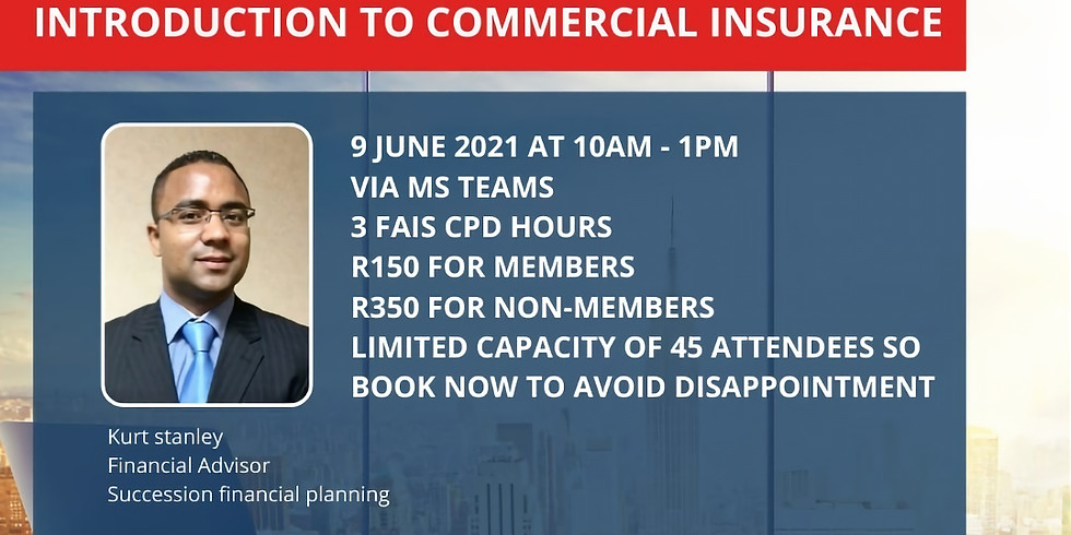 Introduction to Commercial Insurance