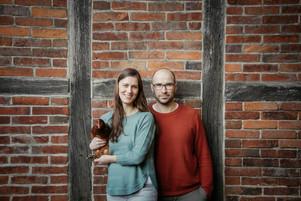 Christin & Axel mit Hennriette