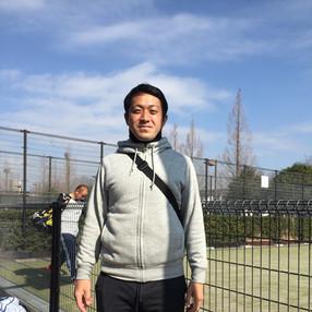 男子シングルス代表 中岡優太さん