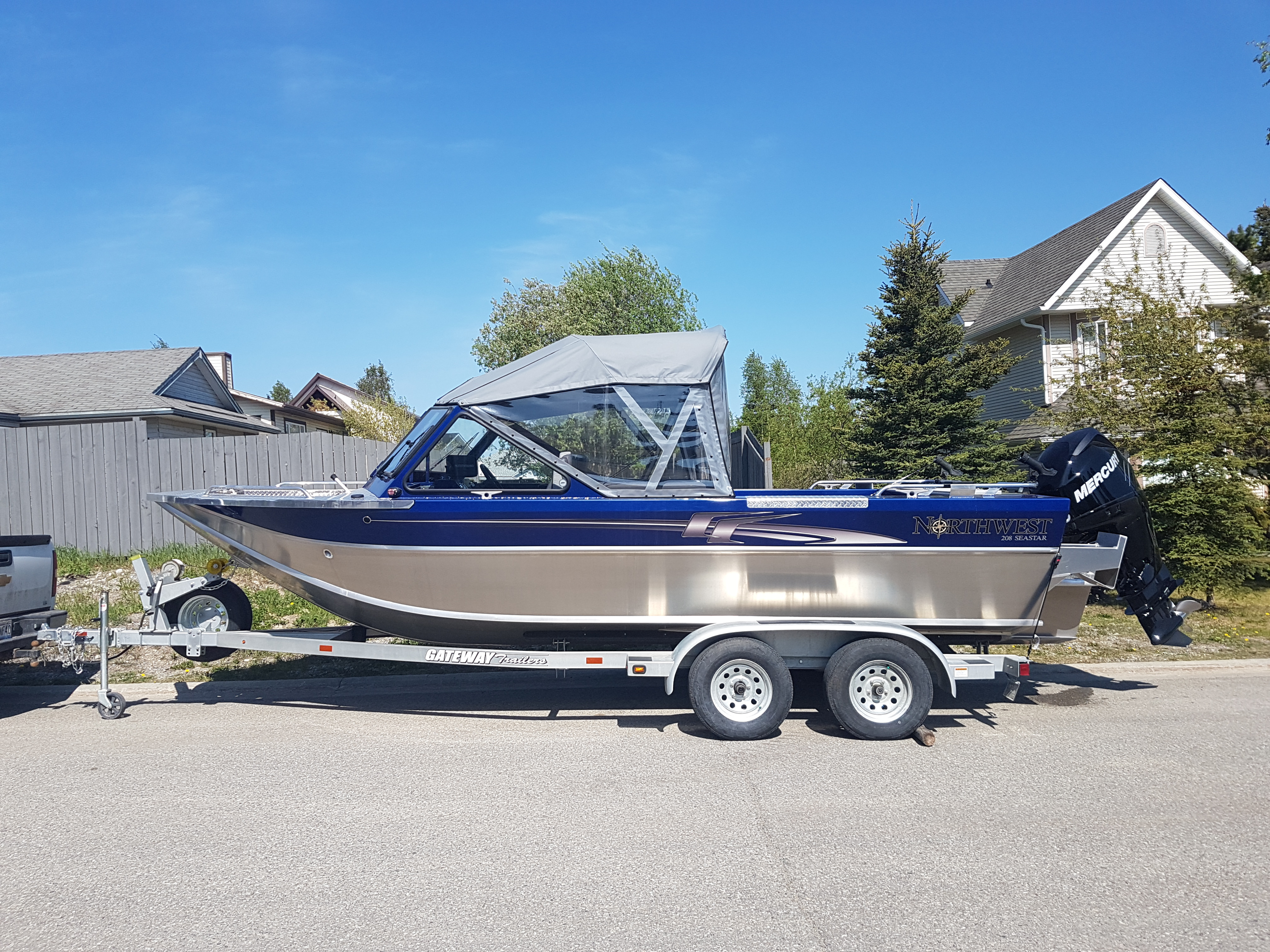 Boat for hire $125 per hour, min 4 hrs